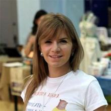 Бондарь Евгения--Координатор волонтерских программ Благотворительного Фонда Поддержки и Развития ДОБРОДЕТЕЛЬ